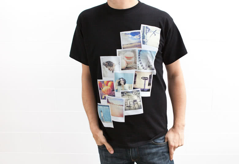 T-shirt with photo