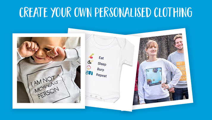 How to personalise prints on clothes!